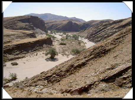 le canyon du kuiseb