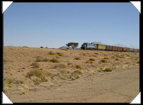 train namibie