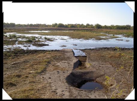 photo camping salambala caprivi namibie