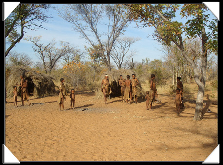 village bushman