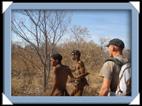 le peuple san, les bushmens de Namibie