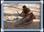 le peuple san, les bushmen de Namibie