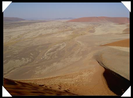 désert de sables rouge