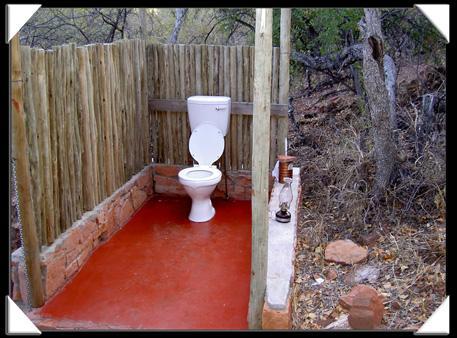 toilette a la bush